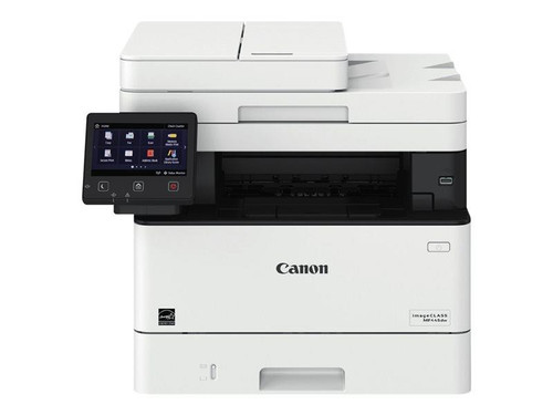 Canon i-SENSYS MF445dw - Multifunction printer - B/W - laser - A4 (210 x 297 mm), Legal (216 x 356 mm) (original) - A4/Legal (media) - up to 38 ppm (copying) - up to 38 ppm (printing) - 350 sheets - 33.6 Kbps