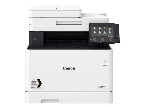 Canon i-SENSYS MF744Cdw - Multifunction printer - colour - laser - A4 (210 x 297 mm), Legal (216 x 356 mm) (original) - A4/Legal (media) - up to 27 ppm (copying) - up to 27 ppm (printing) - 300 sheets - 33.6 Kbps