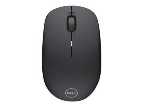 Dell WM126 - Mouse - optical - 3 buttons - wireless - RF - USB wireless receiver - for Inspiron 34XX, 35XX, 37XX, 5391, 5490, 55XX, 7591 2, 7790, 7791 2-in-1, Vostro 3671, 53XX