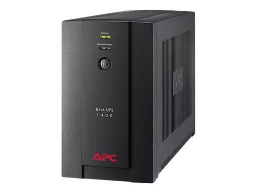APC Back-UPS 1400VA, 230V, AVR, IEC Sockets - BX1400UI