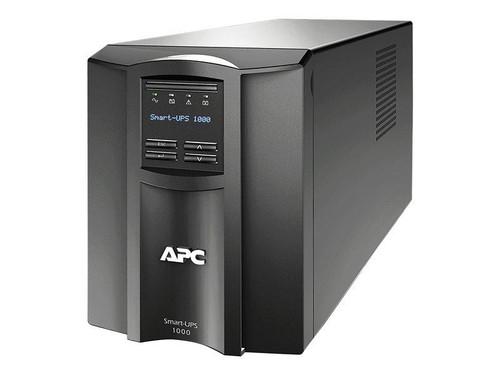 APC Smart-UPS SMT1000IC - UPS - AC 220/230/240 V - 700 Watt - 1000 VA - RS-232, USB - output connectors: 8 - black - with APC SmartConnect