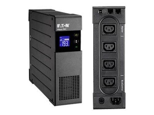 """Eaton Ellipse PRO 850 - UPS - AC 230 V - 510 Watt - 850 VA 9 Ah - USB - output connectors: 4 - 2U - 19"""" - black"""