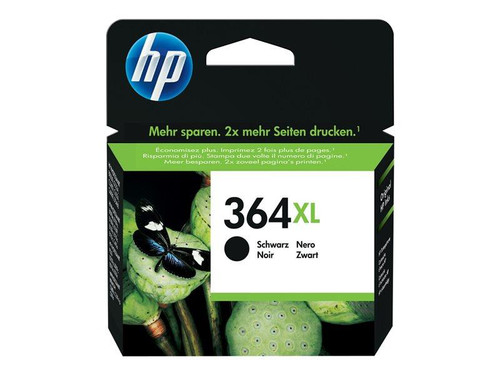 HP 364XL - CN684EE - 1 x Black - Ink cartridge - High Yield - For Deskjet 35XX, Photosmart 55XX, 55XX B111, 65XX, 65XX B211, 7510 C311, 7520, eStation C510