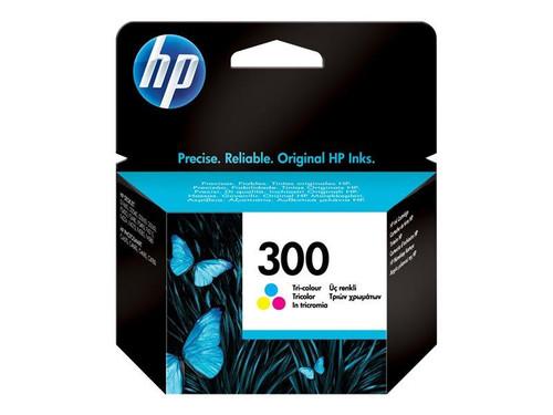 HP 300 - CC643EE - 1 x Yellow,1 x Cyan,1 x Magenta - Ink cartridge - For Deskjet F2430, F2483, F2488, F4435, F4580, Envy 100 D410, 11X D411, 120, Photosmart C4685