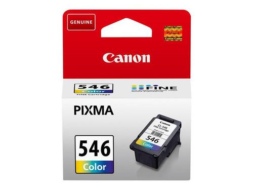 Canon CL-546 - 8289B001 - 1 x Cyan,1 x Magenta,1 x Yellow - Ink Cartridge - For PIXMA iP2850,MG2450,MG2550,MG2555,MG2950,MG2950S,MX495