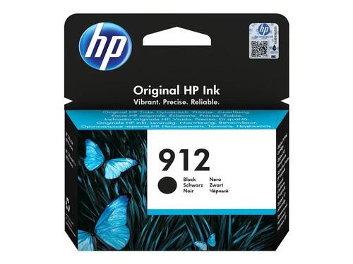 HP 912 - 8.29 ml - black - original - ink cartridge - for Officejet 80XX, Officejet Pro 80XX