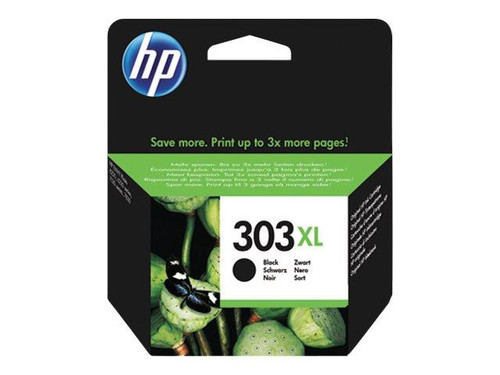 HP 303XL - 12 ml - High Yield - black - original - ink cartridge - for Envy Photo 62XX, Photo 71XX, Photo 78XX, Tango
