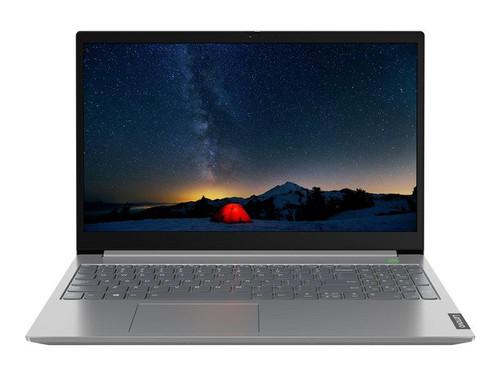 """Lenovo ThinkBook 15-IIL 20SM - Core i5 1035G1 / 1 GHz - Win 10 Pro 64-bit - 8 GB RAM - 256 GB SSD NVMe - 15.6"""" IPS 1920 x 1080 (Full HD) - UHD Graphics - Bluetooth, Wi-Fi - mineral grey - kbd: UK"""