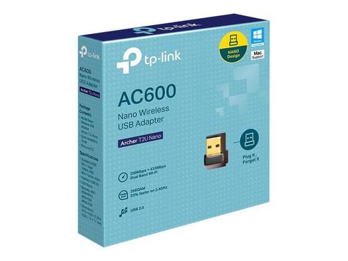 TP-Link Archer T2U Nano - Network adapter - USB 2.0 - 802.11ac
