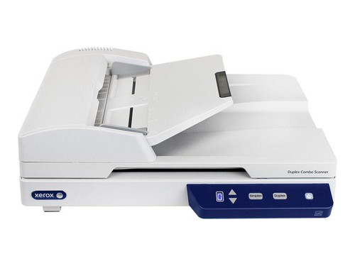 Xerox Duplex Combo Scanner - Document scanner - Contact Image Sensor (CIS) - Duplex - 216 x 2997 mm - 600 dpi - ADF (35 sheets) - up to 1500 scans per day - USB 2.0