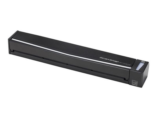 Fujitsu ScanSnap S1100i document scanning solution, Format A8 up to A4 (A3 with optional carrier sheets), USB 2.0