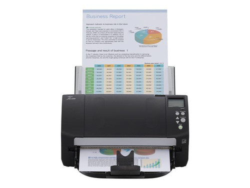Fujitsu fi-7160 document scanner Includes PaperStream IP (TWAIN/ISIS) image enhancement solution and PaperStream Capture Batch Scanning Application60 ppm / 120 ipm @ 300dpi