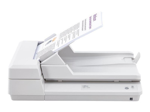 Fujitsu SP-1425 Document Scanner 25ppm / 50ipm duplex A4 desktop document scanner with ADF and Flatbed.