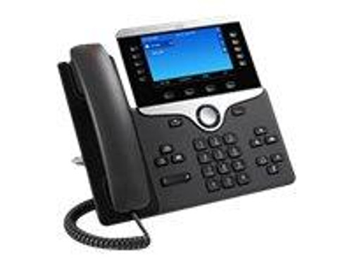 Cisco IP Phone 8841 - VoIP phone - SIP, RTCP, RTP, SRTP, SDP - 5 lines