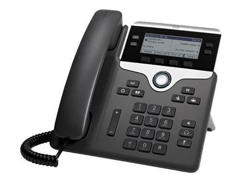 Cisco IP Phone 7841 - VoIP phone - SIP, SRTP - 4 lines - refurbished