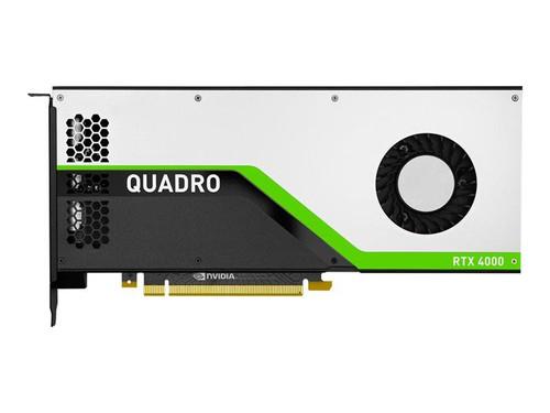 NVIDIA Quadro RTX 4000 - Graphics card - Quadro RTX 4000 - 8 GB GDDR6 - PCIe 3.0 x16 - 3 x DisplayPort, USB-C