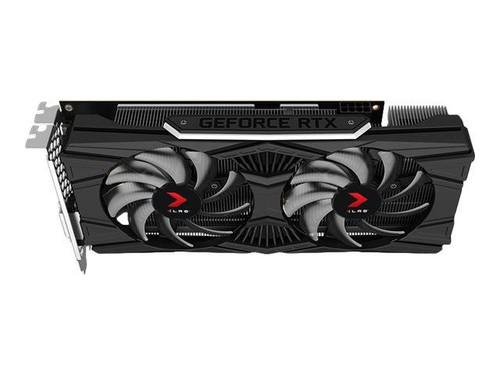 PNY XLR8 GeForce RTX 2060 Gaming - Overclocked Edition - graphics card - GF RTX 2060 - 6 GB GDDR6 - PCIe 3.0 x16 - DVI, HDMI, DisplayPort