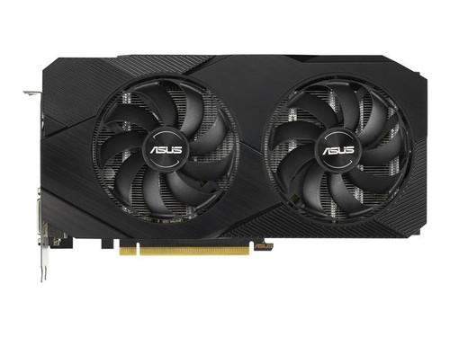 ASUS DUAL-GTX1660S-O6G-EVO - OC Edition - graphics card - GF GTX 1660 SUPER - 6 GB GDDR6 - PCIe 3.0 x16 - DVI, HDMI, DisplayPort