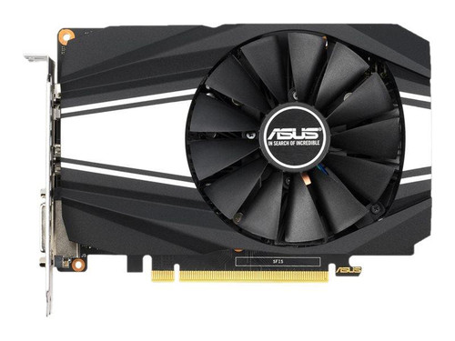 ASUS PH-GTX1650S-O4G - OC Edition - graphics card - GF GTX 1650 SUPER - 4 GB GDDR6 - PCIe 3.0 x16 - DVI, HDMI, DisplayPort