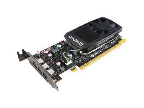 NVIDIA Quadro P400 - Graphics card - Quadro P400 - 2 GB GDDR5 low profile - 3 x Mini DisplayPort - for ThinkStation P320 30BJ (SFF), 30BK (SFF), 30BS (SFF), P330 30C7 (SFF), 30C8 (SFF), 30CA (SFF), P330 (2nd Gen) 30D2 (SFF), 30D4 (SFF)