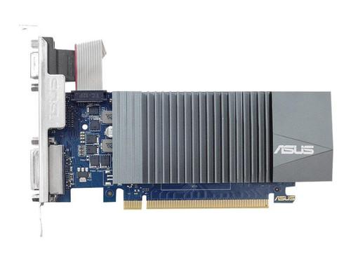 ASUS GT710-SL-2GD5 - Graphics card - GF GT 710 - 2 GB GDDR5 - PCIe 2.0 - DVI, D-Sub, HDMI - fanless