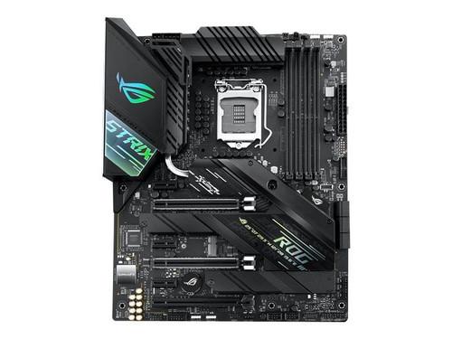ASUS ROG STRIX Z490-F GAMING - Motherboard - ATX - LGA1200 Socket - Z490 - USB-C Gen2, USB 3.2 Gen 1, USB 3.2 Gen 2 - 2.5 Gigabit LAN - onboard graphics (CPU required) - HD Audio (8-channel)