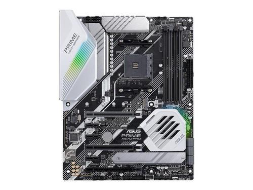 ASUS PRIME X570-PRO - Motherboard - ATX - Socket AM4 - AMD X570 - USB-C Gen2, USB 3.2 Gen 1, USB 3.2 Gen 2 - Gigabit LAN - onboard graphics (CPU required) - HD Audio (8-channel)
