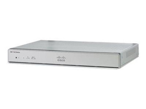 Cisco Integrated Services Router 1111 - Router - 8-port switch - GigE - WAN ports: 2