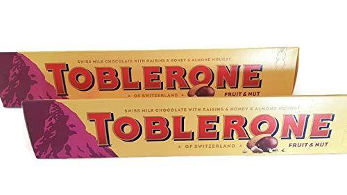 Pack of 2 - Toblerone Fruit & Nut Bar - 360g