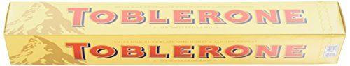 Toblerone Milk Chocolate Bar 360 g (Pack of 10)