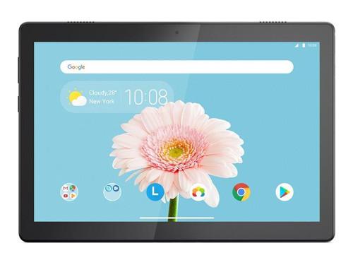 "Lenovo Tab M10 ZA5A - Tablet - Android 9.0 (Pie) - 32 GB eMMC - 10.1"" (1280 x 800) - microSD slot - 4G - slate black - TopSeller"