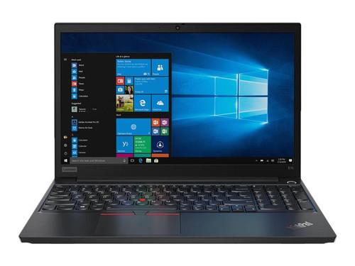"""Lenovo ThinkPad E15 20RD - Core i7 10510U / 1.8 GHz - Win 10 Pro 64-bit - 16 GB RAM - 512 GB SSD NVMe - 15.6"""" IPS 1920 x 1080 (Full HD) - Radeon RX 640 / UHD Graphics - Bluetooth, Wi-Fi - black - kbd: UK"""