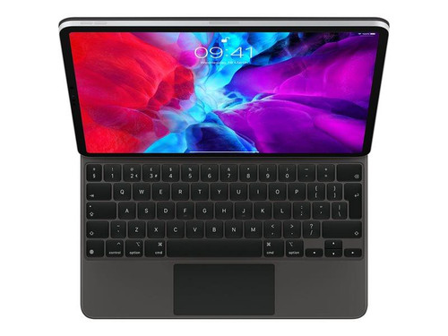 Apple Magic Keyboard - Keyboard and folio case - with trackpad - backlit - Apple Smart connector - QWERTY - UK - for 12.9-inch iPad Pro (3rd generation, 4th generation)