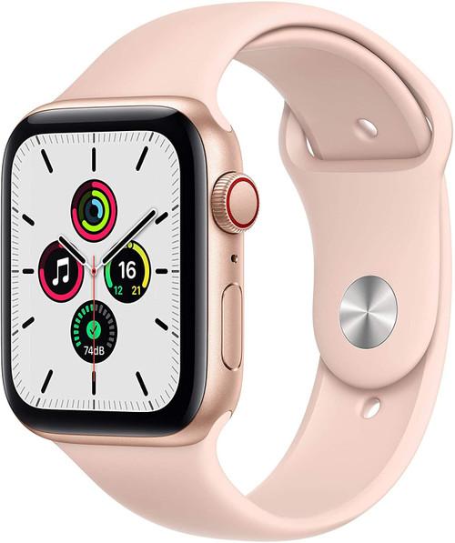 Smartwatch Apple Watch SE 44mm Gold Pink Sport Band
