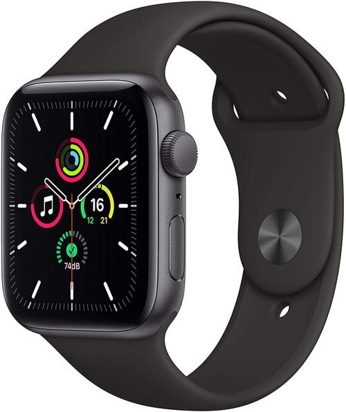 Smartwatch Apple Watch SE 44mm Space Gray Black Sport Band