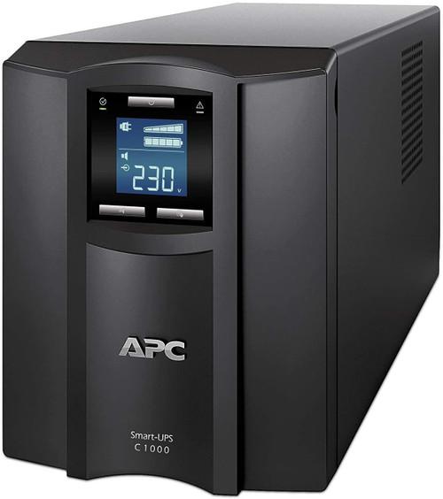 APC Smart-UPS SMC1000IC - UPS - AC 220/230/240 V - 600 Watt - 1000 VA - USB - output connectors: 8 - black