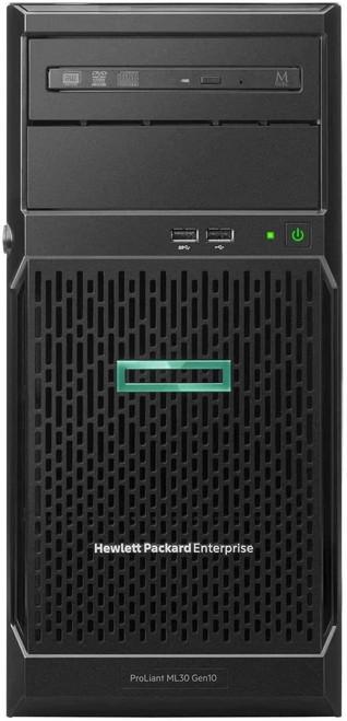 "HPE ProLiant ML30 Gen10 - Server - tower - 4U - 1-way - 1 x Xeon E-2224 / 3.4 GHz - RAM 16 GB - SATA - hot-swap 3.5"" bay(s) - no HDD - GigE - monitor: none"