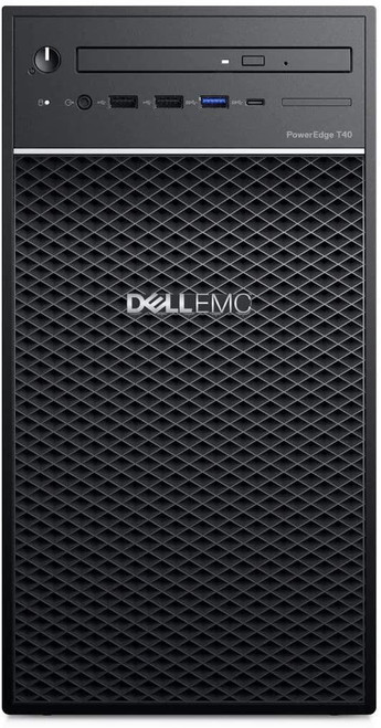 Dell EMC PowerEdge T40 - Server - tower - 1-way - 1 x Xeon E-2224G / 3.5 GHz - RAM 8 GB - HDD 1 TB - DVD-Writer - UHD Graphics P630 - GigE - no OS - monitor: none - BTP - with 1 Year Basic Onsite (CZ - 3 Years)
