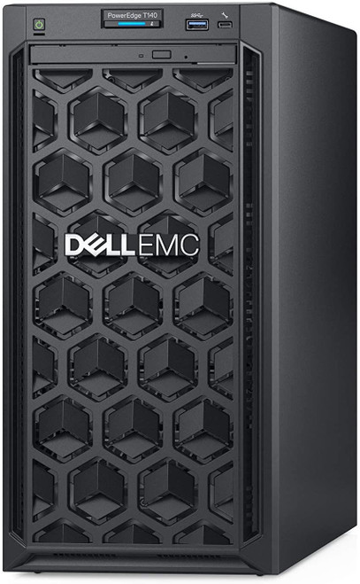 Dell EMC PowerEdge T140 - Server - MT - 1-way - 1 x Xeon E-2224G / 3.5 GHz - RAM 8 GB - HDD 1 TB - DVD-Writer - G200eR2 - GigE - no OS - monitor: none - BTP - with 3 Years Basic Onsite