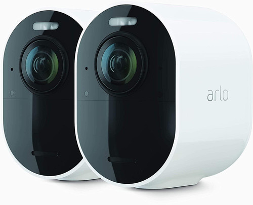 Arlo Ultra 2 Security System - Gateway + camera(s) - wireless (802.11b, 802.11g, 802.11n, 802.11ac, Bluetooth 4.2 LE) - 2 camera(s) - white