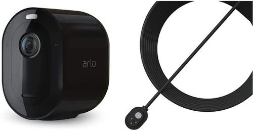 Arlo Pro 3 Wire-Free Security Camera CCTV (Day&Night) - Black
