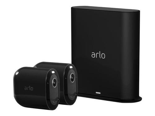 Arlo Pro 3 Wire-Free Security Camera System - Gateway - 2 camera(s) - black