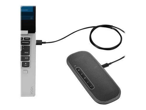 Lenovo 700 - Speaker - for portable use - wireless - NFC, Bluetooth - USB - 4 Watt - grey - for ThinkPad P14s Gen 2, P15s Gen 2, X13 Gen 2, V14 IGL, Yoga 6 13, Yoga Slim 7 Pro 14