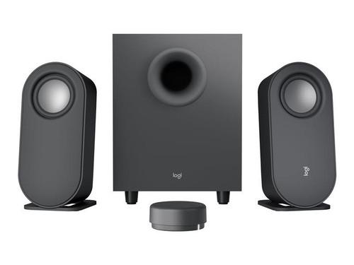 Logitech Z407 - Speaker system - for PC - 2.1-channel - wireless - Bluetooth - USB - 40 Watt (Total) - graphite grey