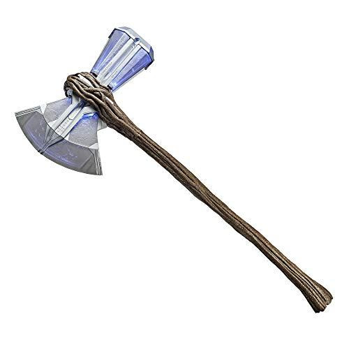 Marvel Avengers, Endgame Marvel's Stormbreaker Electronic Axe Thor Premium Roleplay Item with Sound FX, for Fans, Collectors and Adults