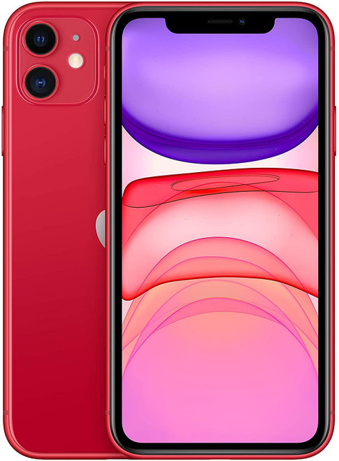 Apple iPhone 11 RED - 64GB - dual-SIM - red