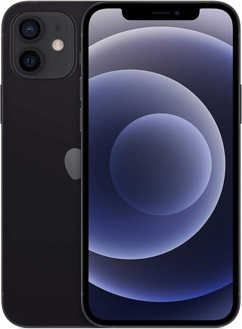 Apple iPhone 12 - dual-SIM - 5G- 64 GB - black