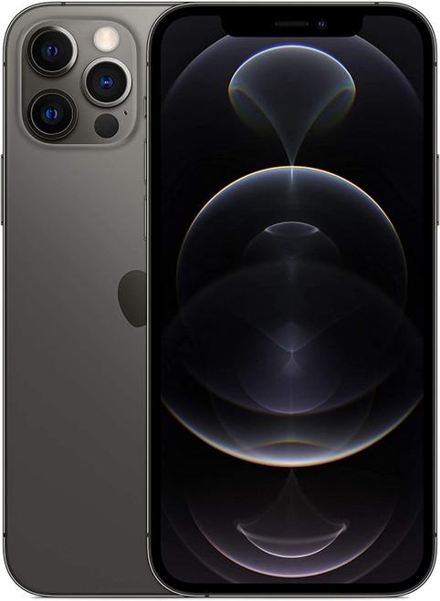 "Apple iPhone 12 Pro - Smartphone - dual-SIM - 5G NR - 128 GB - 6.1"" - 2532 x 1170 pixels (460 ppi) - Super Retina XDR Display (12 MP front camera) - 3x rear cameras - graphite"