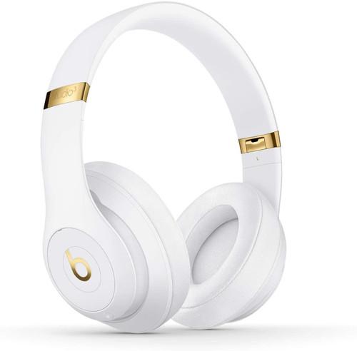 Beats Studio3 Wireless Noise Cancelling Bluetooth Headphones with Apple W1 Headphone Chip - White
