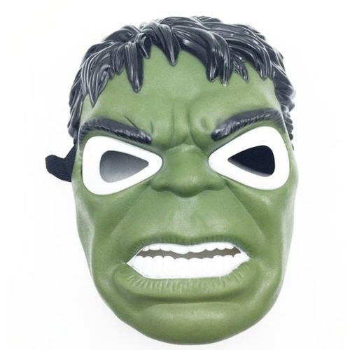 Avengers Superhelden Led Maske mit Sound Effects (Hulk, Iron-Man, Batman Usw)[Hulk]